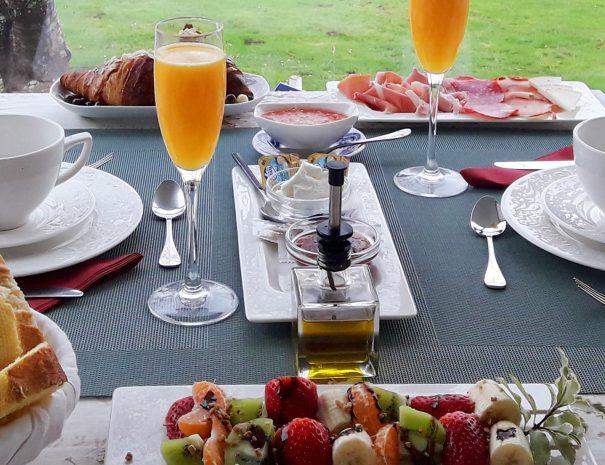 Desayuno Hotel La Raposera Caravia Asturias_buen desayuno